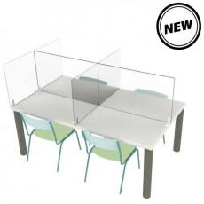 Mampara mesa comedor/reunión