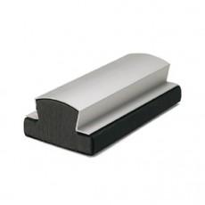 Borrador de aluminio magnético