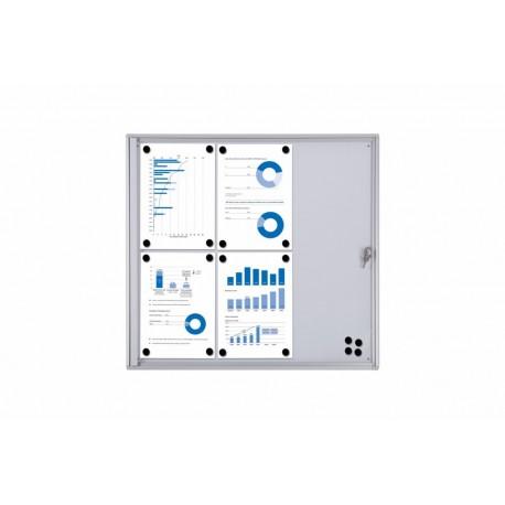Vitrina BASIC magnética puerta abatible