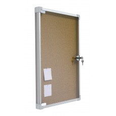 Vitrinas puerta abatible